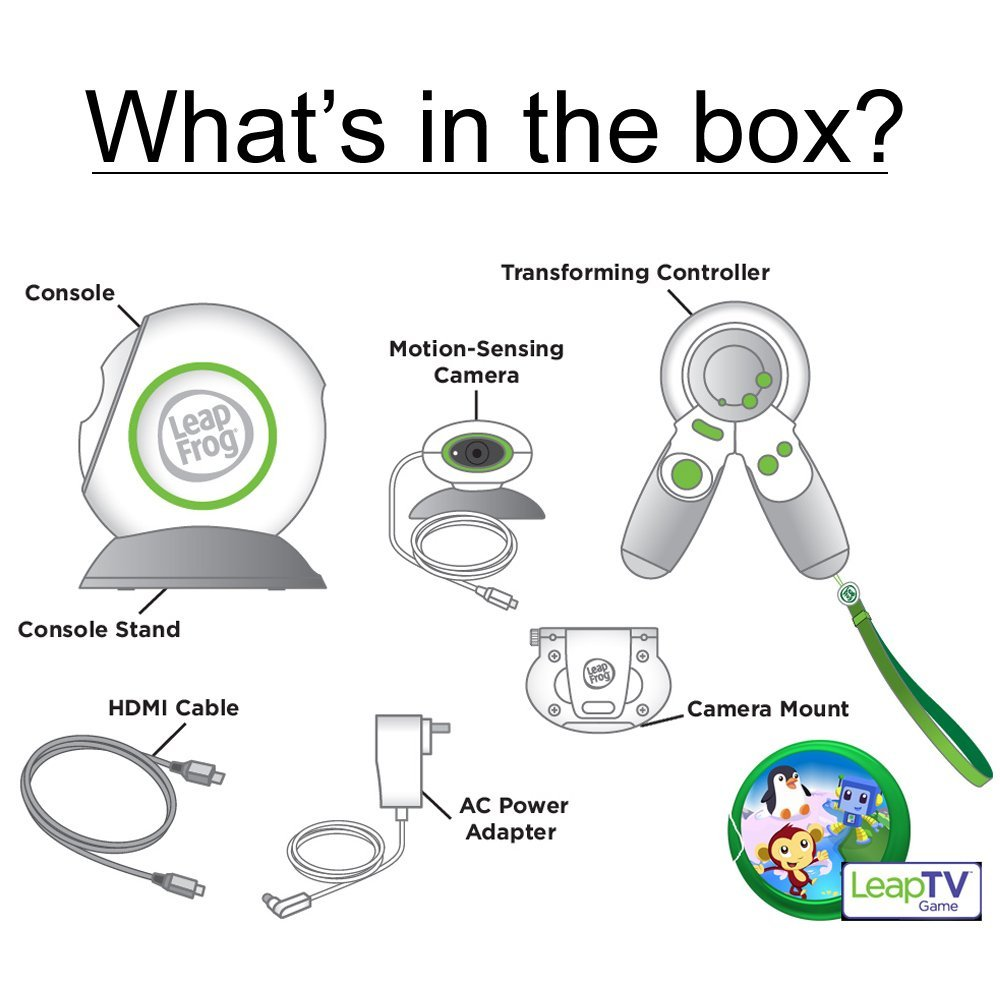 LeapFrog LeapTV Educational Gaming System(Discontinued by manufacturer) (Renewed) by LeapFrog (Image #8)