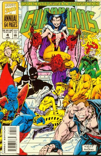 Guardians of the Galaxy #4 Annual 1994