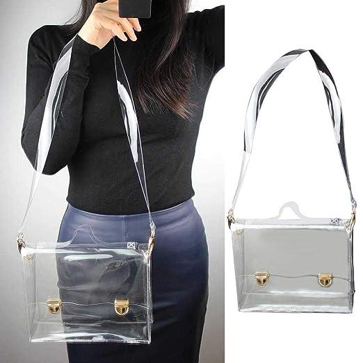 Blentude Bolsas de hombro - PVC transparente bolsa de hombro ...