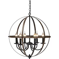 KingSo 6 Light Chandelier