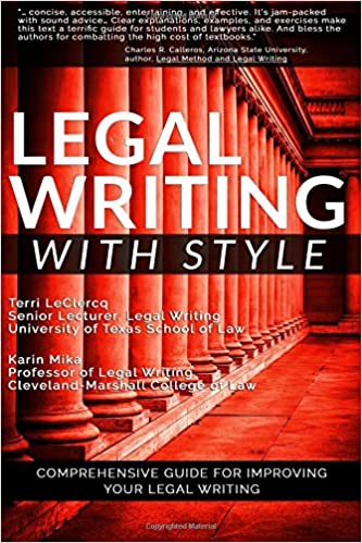 Legal Writing with Style