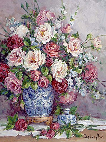 Her Majesty's Roses by Barbara Mock Art Print, 17 x 22 inches