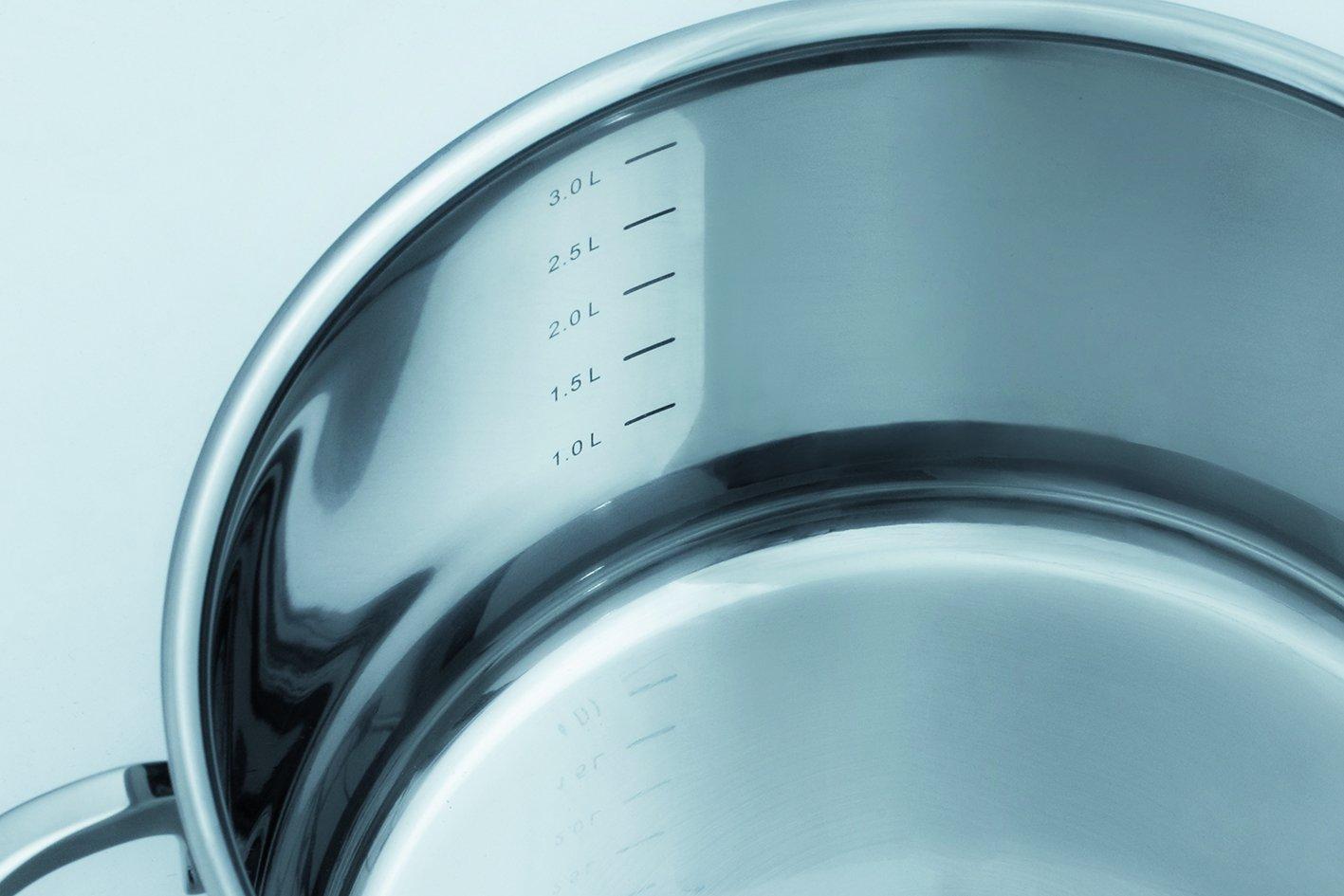 GSW 813150 Alara Top Juego de 14 Piezas, Acero Inoxidable, Plata, 38 ...