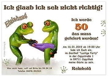 Geburtstagseinladungen Runder Geburtstag Lustig 50 60 70 Für Jedes
