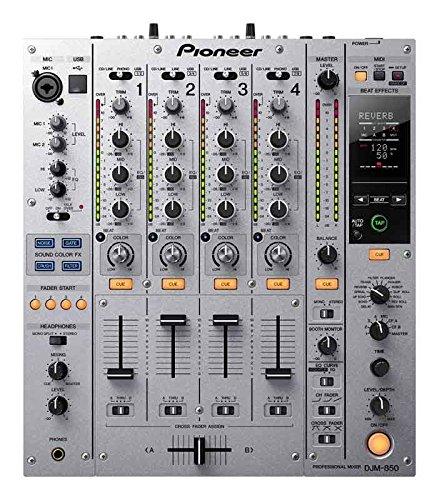 Pioneer DJ DJM-850 4-Channel 8 analog inputs 4 outputs, Built-in 24bit/96kHz USB soundcard, built-in Sound Color FX, TRAKTOR SCRATCH 2 Certified Professional Performance DJ Mixer