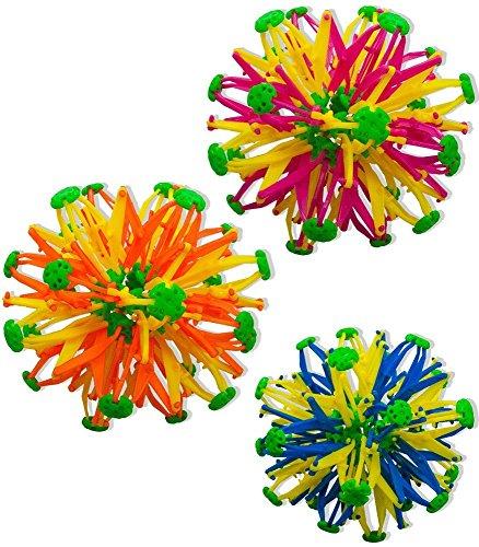 30pc Hoberman Neon Mini Spheres by Hoberman