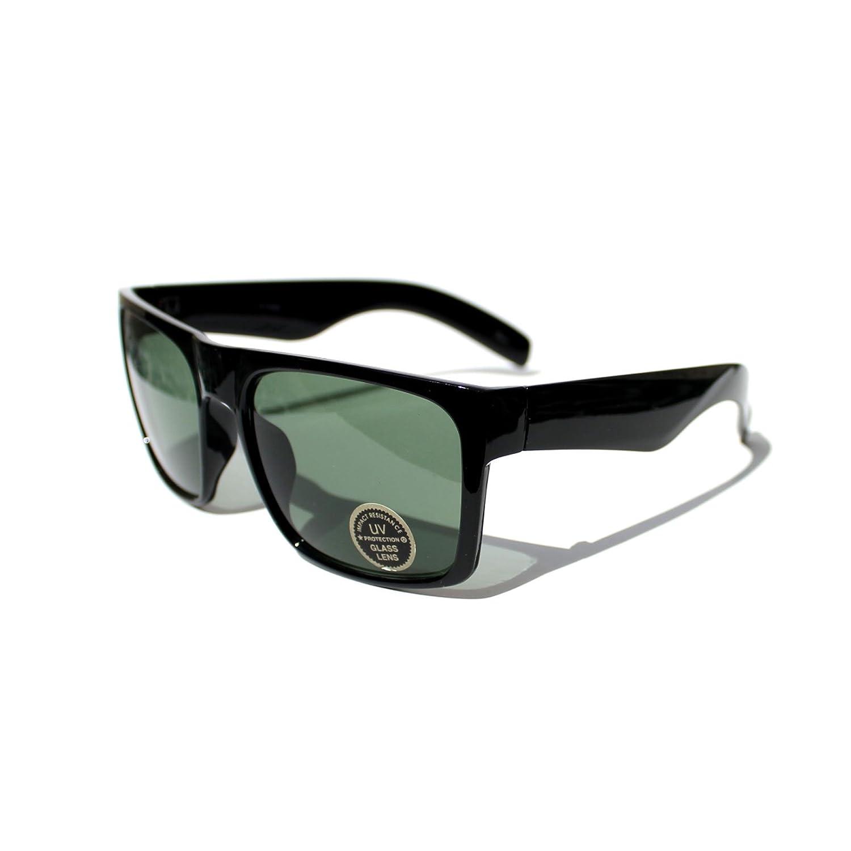 #SN6-S1 Sonic Eyewear @ X-Large Flat Top Wayfarer Men's Sunglasses - UV400 -