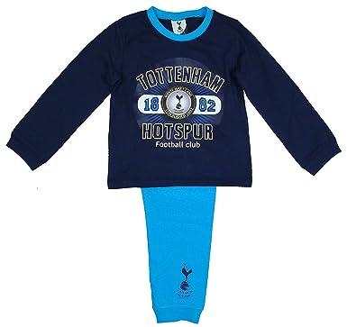 Boys Tottenham Hotspur Fc Spurs Toddler Cotton Pyjamas Sizes From 12