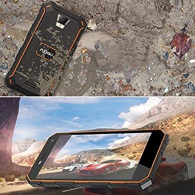 Smartphone al aire libre, 5000mAh Batería grande, Waterproof (IP68 ...