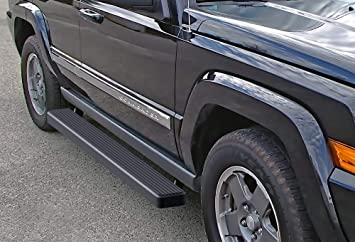 APS Jeep Off-Road Side Steps Armor Custom Fit 2005-2010 Jeep Grand Cherokee//Commander