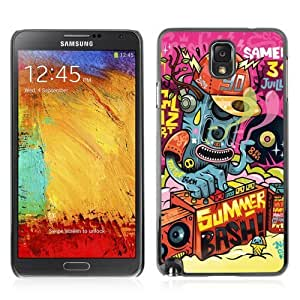 YOYOSHOP [Cool Abstract DJ Monster ] Samsung Galaxy Note 3 Case