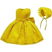 ZEVONDA Vestido Bonito para Niñas Bebés - Vestido Lindo De La Princesa De La Boda del Bebé De Bordada Moda Formal