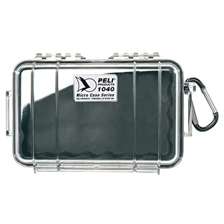Peli 1040 with interior - Black, exterior - Clear,Peli