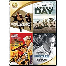 Butch Cassidy and the Sundance Kid / The Longest Day / The Sand Pebbles / The Hustler Quad Feature (2015)