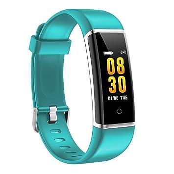 AUSUN Pulsera de Actividad Inteligente, FT901 Pulsera Actividad Reloj Inteligente Mujer Hombre con Monitor de
