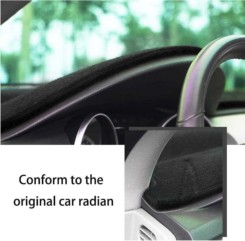 Black line 2016-2018 Auto Dashboard Pad DashMat Dash Board Cover SureKit Car Custom Dash Cover for Chevrolet Chevy Malibu 2012-2015