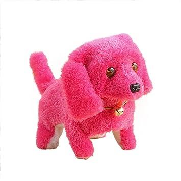 Amazon.com: JEWH Robótico lindo electrónico paseo mascota ...