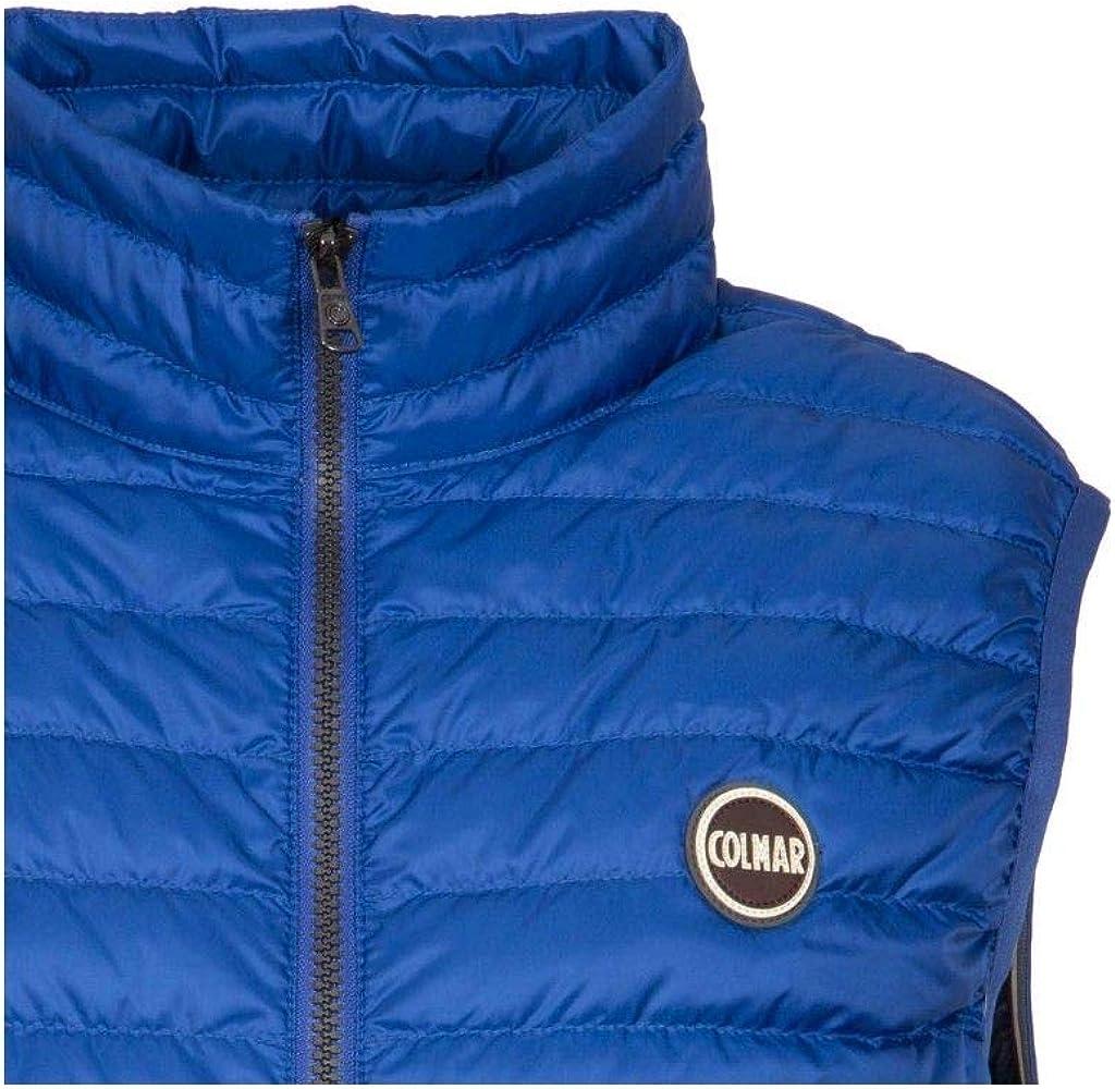 COLMAR ORIGINALS Mens 1278R1mq374 Blue Polyamide Vest