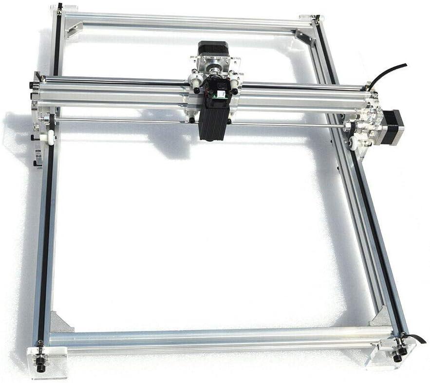 Machine de gravure laser de bureau Machine de gravure Machine de gravure laser Machine /à sculpter DIY Laser avec lunettes de protection 500 MW 40 x 50 cm Machine de gravure laser CNC