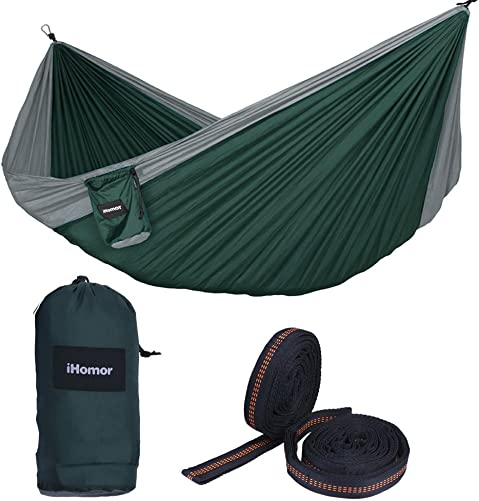 EAGLE OUTDOOR Portable Lightweight Nylon Single Hammock Ideal for Camping Adventure Or Travel