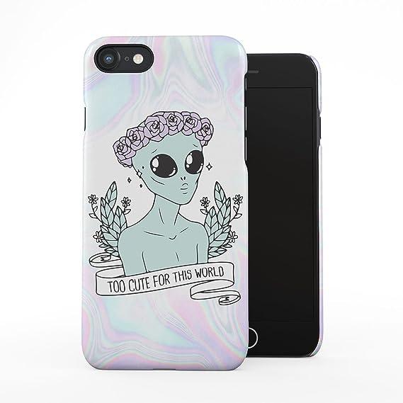 online retailer c6f20 5aff6 Amazon.com: Alien Too Cute for This World Tye Dye Soap Tumblr ...