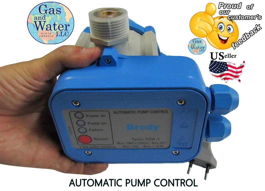 Automatic Electronic Switch Control Water Pump Pressure Controller Well Wiring Diagram Replacing A Further 110 Or 220v Works For Both