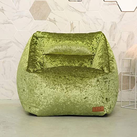 Dsrgwe Puffs, Big Bag - Extra Large, 66cm x 70cm - Juego de cojín Gigante para Sala de Estar, sillón de jardín Exterior, Tumbona (Color : B): Amazon.es: Hogar