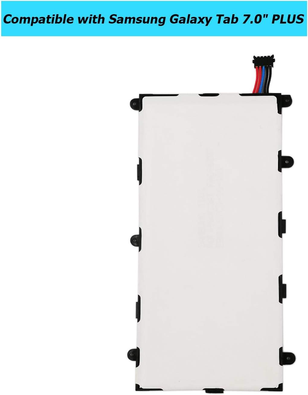 Upplus SP4960C3B Ersatz Akku Kompatibel F/ür Samsung Galaxy Tab 2 7.0 P3100 P3110 P3113 with Toolkit 3,7V 4000mAh