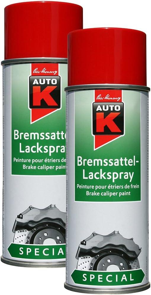 Kwasny 2x 233 074 Auto K Special Bremssattel Lackspray Rot 400ml Auto