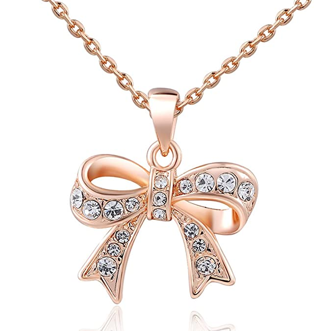 Bow Chain Necklace $3.33 SHIPP...