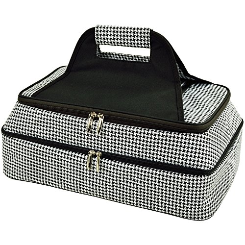 - Picnic at Ascot Original Insulated Double Layer Thermal Food and Casserole Carrier- keeps Food Hot or Cold- Designed & Quality Approved in the USA