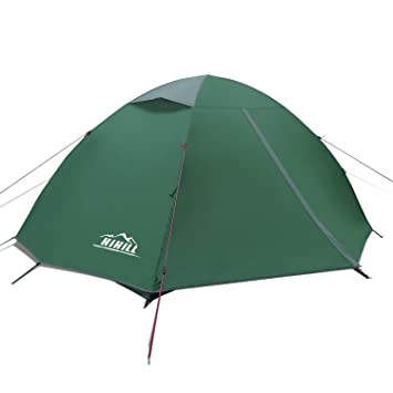 2 Person Tent Backpacking Tents lightweight Tent HiHill Waterproof Tent for C&ing Hiking Traveling  sc 1 st  Amazon.com & Amazon.com : 2 Person Tent Backpacking Tents lightweight Tent ...