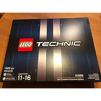 LEGO Technic 4x4 Crawler Exclusive Edition Set 41999: Toys & Games