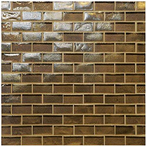 12 x 12 12 x 12 American Olean Tile GO0634112BJPM Garden Oasis 3//4X1.5 BRK Joint Garden Oasis 3//4 inch x 1.5 inch Brick Joint Tile,