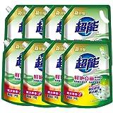 纳爱斯 超能袋装洗衣液1kg*8袋植翠低泡洗衣液(薰衣草香型)