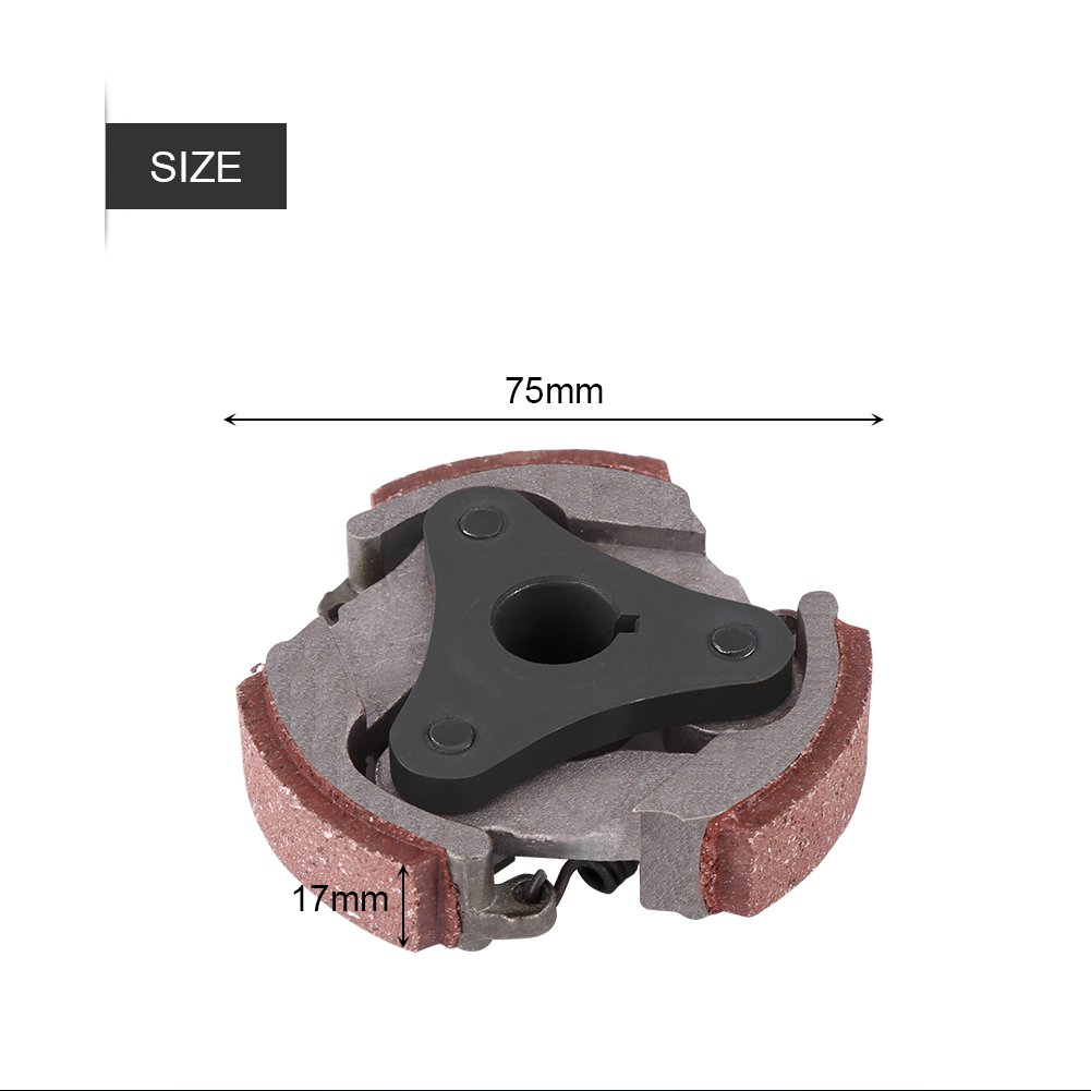 Ressort Embrayage Pocket Bike Patin dEmbrayage de Moto avec 3 Ressorts en Aluminium