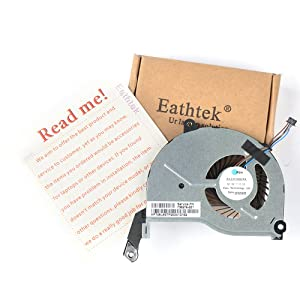 Eathtek Replacement CPU Cooling Fan for HP Pavilion 15-N 17-N 14-N 15-F 15-n274eo 15-n277eo 15-n284so 15-n285eo 15-n030sa Series, Compatible Part Number 736278-001
