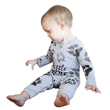 Refulgence Toddler Recien nacido bebe niños niñas traje ropa mono ...