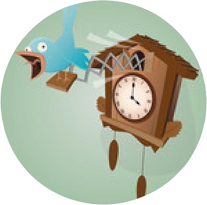 alfombrilla de ratón reloj de cuco cuco divertido: Amazon.es ...