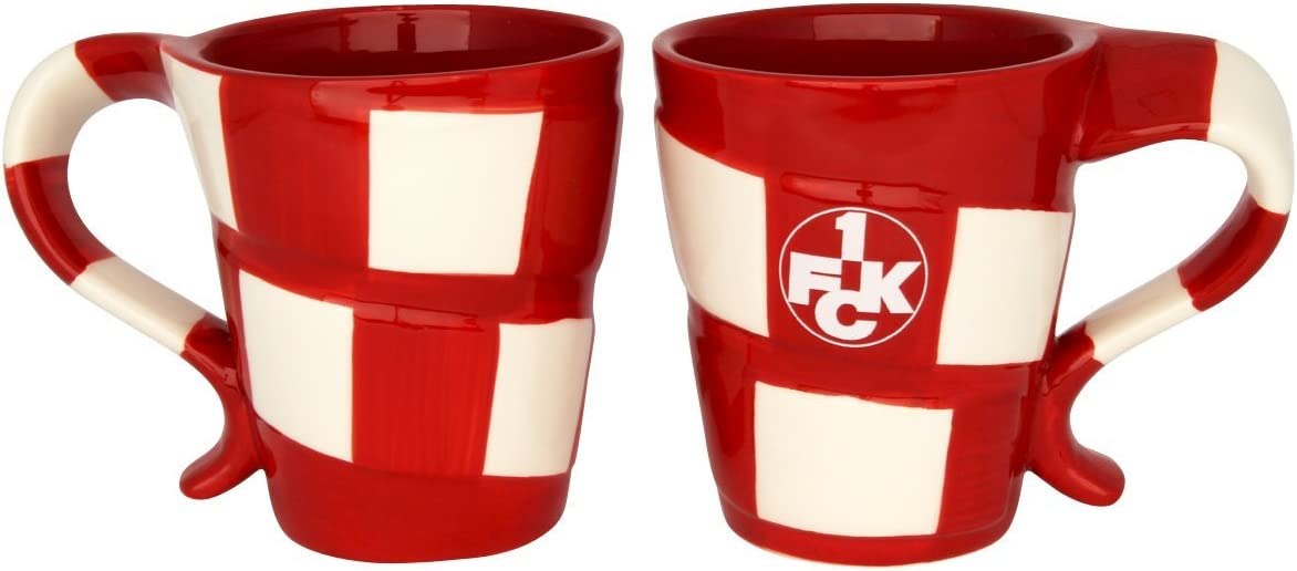 "Tasse /"" Relief /"" 1.FC Kaiserslautern Fanartikel Fussball"