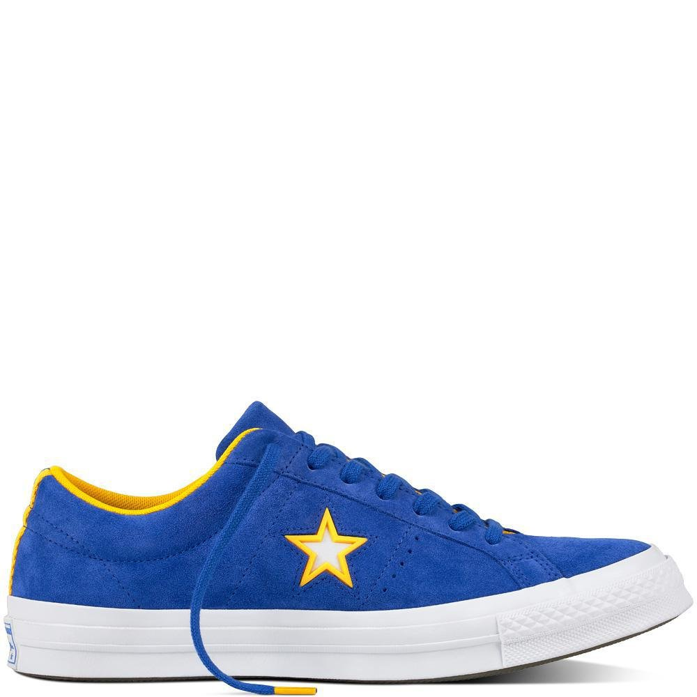 Converse Lifestyle One Star Ox Suede, Zapatillas de Deporte Unisex Adulto 39/40 EU|Azul (Hyper Royal/White 483)