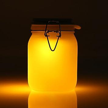 lampe solaire orange