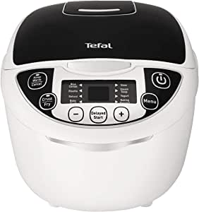 Tefal Rice and Multi Cooker Rice and Multi Cooker, Black/White, RK705