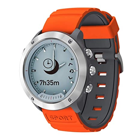 CYGGJ Hybrid Smart Watch Smartwatch Deportivo para Hombres y ...