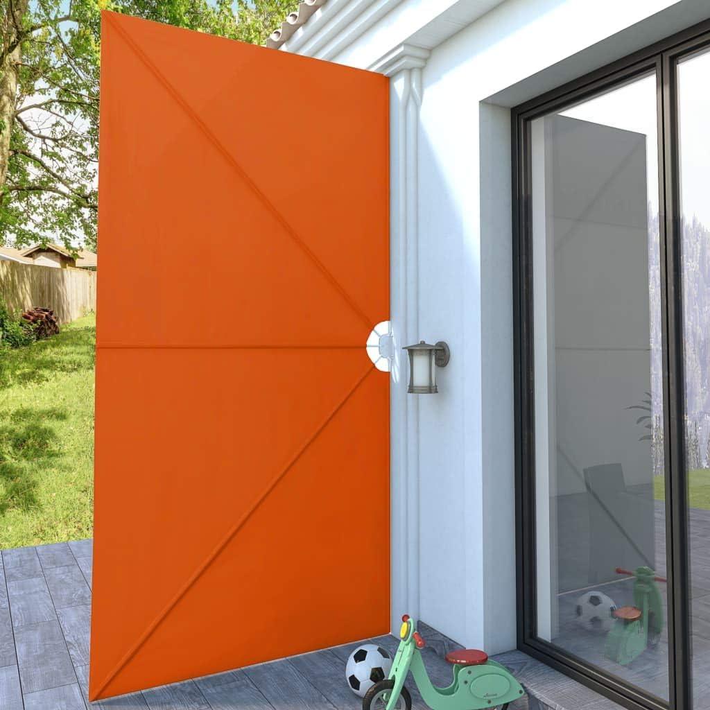 vidaXL Toldo de Terraza Lateral Plegable 400x200 cm Terracota ...
