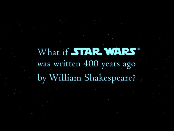 William Shakespeare's Star Wars: Ian Doescher: 8601200654059 ...