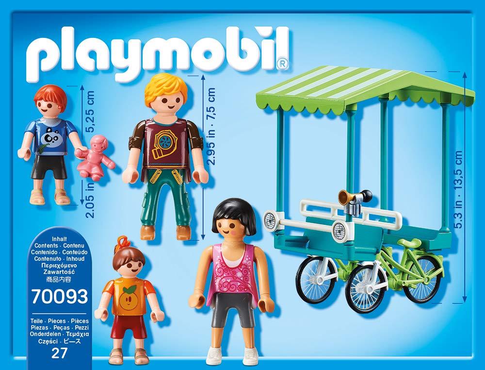 Playmobil 70093 Family Fun Familias de Bicicleta: Amazon.es: Juguetes y juegos