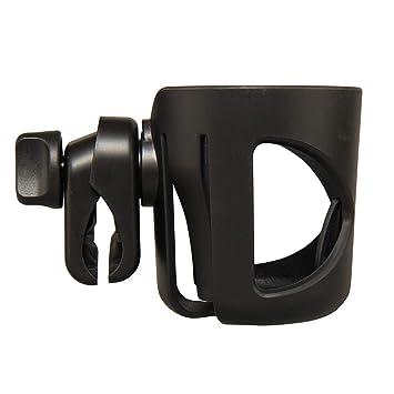 Black Bike Water Bottle Cage Adjustable Bicycle Support Rack for Stroller