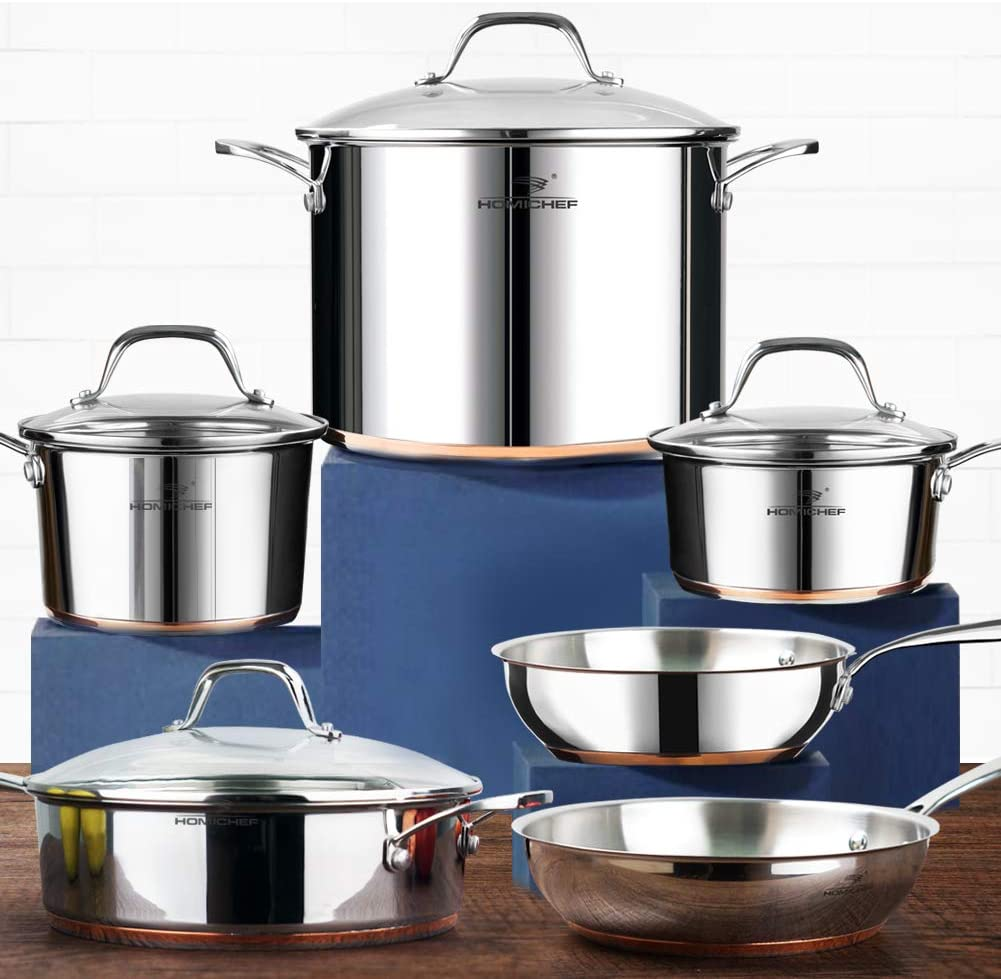 """Nickel-Free Stainless Steel Cookware Set. 6 Best Healthy Non-Toxic Cookware Options: """"2021 Guide"""""""