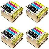 20x Epson Stylus SX 110 Premium XL Druckerpatronen. Sehr gute Laufleistung und Preiswert!MIT CHIP!!!